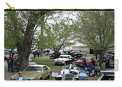 Car Show In Deming N M Carry-all Pouch by Jack Pumphrey