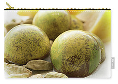 Carry-all Pouch featuring the photograph Caradamon-lemon Chocolate by Sabine Edrissi