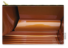 Caramel Abstract Carry-all Pouch
