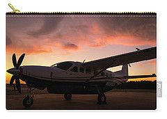Caravan On The Ramp In The Sunset Carry-all Pouch