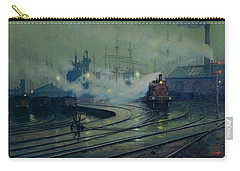Cardiff Docks Carry-all Pouch by Lionel Walden