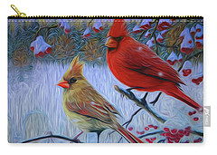 Cardinal Family Carry-all Pouch