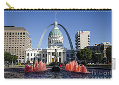 Cardinal Nation Carry-all Pouch by Andrea Silies