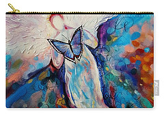 Care Of The Butterfly  Carry-all Pouch