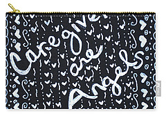 Caregivers Are Angels Carry-all Pouch