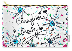 Caregivers Rock Carry-all Pouch
