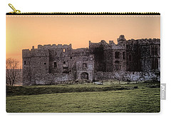 Carew Castle Coral Sunset Carry-all Pouch