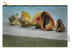 Caribbean Charisma Carry-all Pouch by Karen Wiles