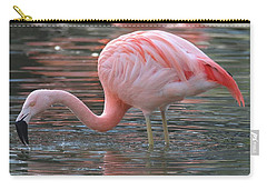 Caribbean Coral Colors Carry-all Pouch by Living Color Photography Lorraine Lynch