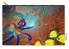Caribbean Coral Reef Carry-all Pouch