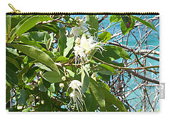 Caribbean Honeysuckle Carry-all Pouch by Margaret Brooks