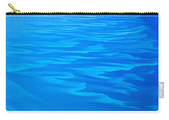 Caribbean Ocean Abstract Carry-all Pouch