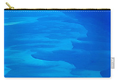 Carry-all Pouch featuring the photograph Caribbean Ocean Mosaic  by Jetson Nguyen
