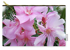 Carry-all Pouch featuring the photograph Caribbean Oleander by Marie Hicks