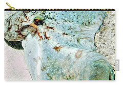 Carry-all Pouch featuring the photograph Caribbean Reef Octopus - Eyes Of The Deep by Amy McDaniel