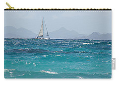 Carry-all Pouch featuring the photograph Caribbean Sailing by Margaret Bobb