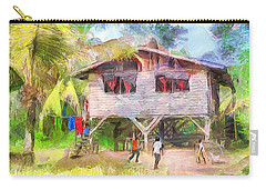 Caribbean Scenes - Country House Carry-all Pouch