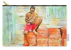 Caribbean Scenes - Diamond In The Rough Carry-all Pouch