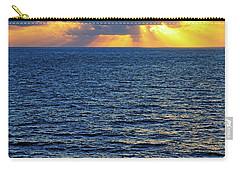Caribbean Sunrise At Sea - Ocean - Sun Rays Carry-all Pouch