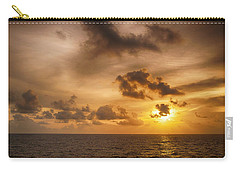 Caribbean Sunrise Carry-all Pouch