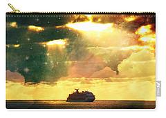 Caribbean Sunset Cloud Art Carry-all Pouch