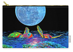 Caribbean Tropical Night Carry-all Pouch