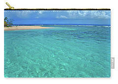 Caribbean Water Carry-all Pouch by Scott Mahon