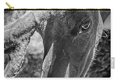 Caribou Black And White Carry-all Pouch