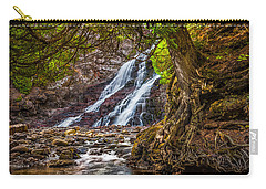 Caribou Falls In Fall Carry-all Pouch