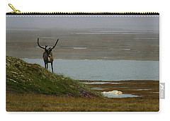 Caribou Fog Carry-all Pouch by Anthony Jones