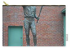 Carl Yastrzemski - Fenway Park Carry-all Pouch by Bill Cannon