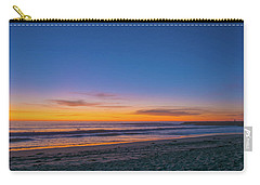 Carlsbad Jetty Sunset Carry-all Pouch
