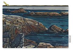 Carmel Beach Rocks Carry-all Pouch