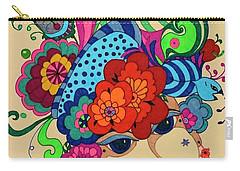 Carmen Carry-all Pouch by Alison Caltrider