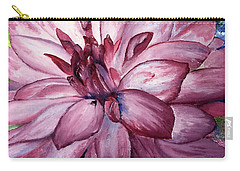 Carmine Dahlia Carry-all Pouch