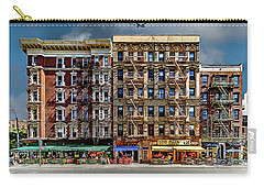 Carry-all Pouch featuring the photograph Carmine Street by Chris Lord