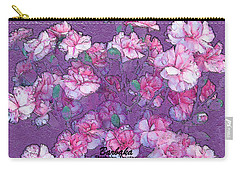 Carnation Inspired Art Carry-all Pouch by Barbara Tristan