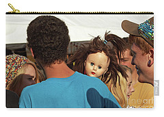 Carry-all Pouch featuring the photograph Carnival Adoption by Joe Jake Pratt