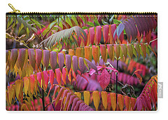 Carry-all Pouch featuring the photograph Carnival Of Autumn Color by Bill Pevlor