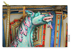 Carry-all Pouch featuring the photograph Carnival - Year Of The Dragon by Mike Savad