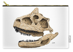 Carnotaurus Skull Carry-all Pouch