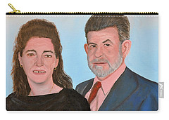 Carol And Max Carry-all Pouch