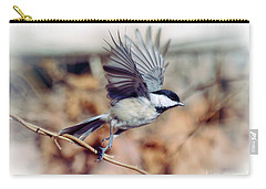 Carolina Chickadee - Come Fly With Me  Carry-all Pouch