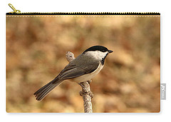 Carolina Chickadee On Branch Carry-all Pouch