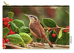 Carolina Hollyday Wren Carry-all Pouch
