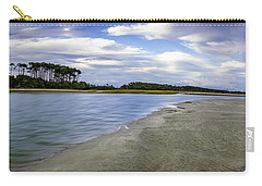 Carolina Inlet At Low Tide Carry-all Pouch