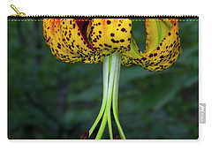 Carolina Lily Carry-all Pouch by Barbara Bowen