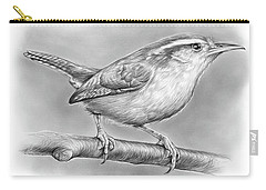 Carolina Wren Carry-all Pouch