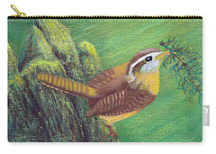 Carolina Wren Springtime Carry-all Pouch