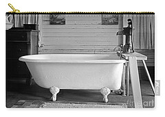 Carry-all Pouch featuring the photograph Caroline's Key West Bath by John Stephens